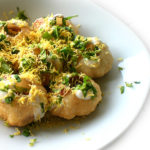 Indian Street Food: Alu Dahi Puri Chaat