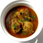 Recipe for Homestyle Chicken Curry taken from www.hookedonheat.com. Visit site for detailed recipe.