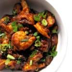 Recipe for Shrimp Sambal taken from www.hookedonheat.com. Visit site for detailed recipe.