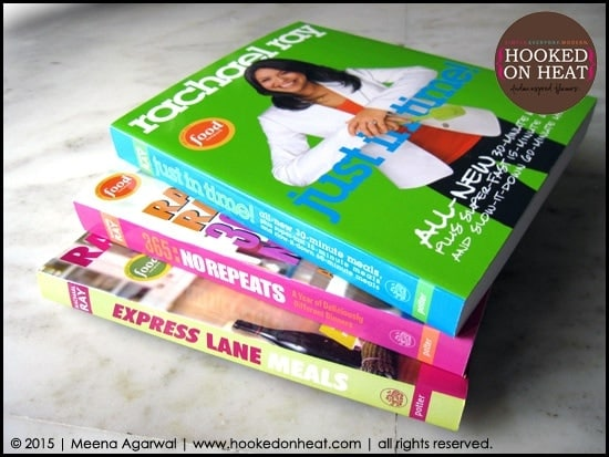 Rachael Ray's Cookbook Review by www.hookedonheat.com