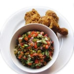 Recipe for Mung Bean Salad, taken from www.hookedonheat.com. Visit site for detailed recipe.
