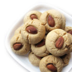 Recipe for Almond Cookies, taken from www.hookedonheat.com. Visit site for detailed recipe.