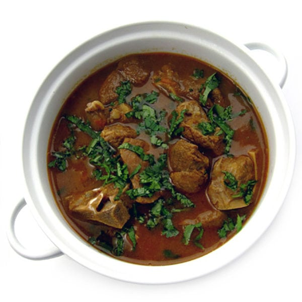 Recipe for Mutton Curry taken from www.hookedonheat.com. Visit site for detailed recipe.