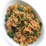 Potato & Chickpeas Rice