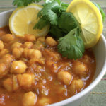 Recipe for Chickpeas Curry taken from www.hookedonheat.com. Visit site for detailed recipe.