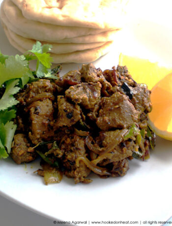 Recipe for Black Pepper Lamb taken from www.hookedonheat.com. Visit site for detailed recipe.