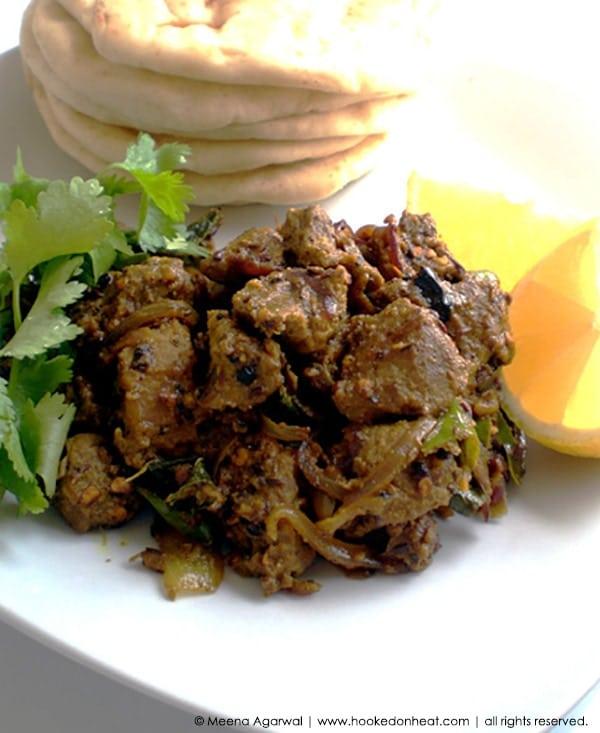 Recipe for Black Pepper Lamb taken from www.hookedonheat.com. Visit site for detailed recipe.