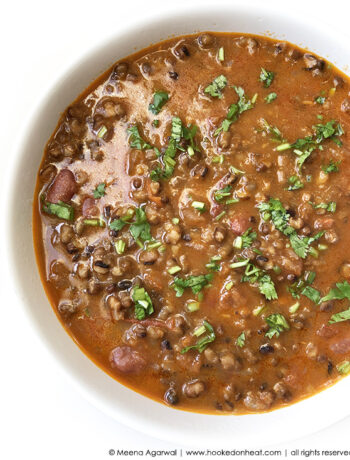 Recipe for Instant Pot Dal Makhani taken from www.hookedonheat.com. Visit site for detailed recipe.