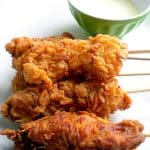 Recipe for Tandoori Chicken Pops taken from www.hookedonheat.com. Visit site for detailed recipe.