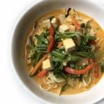 Recipe for Thai Curry Noodle Soup taken from www.hookedonheat.com. Visit site for detailed recipe.