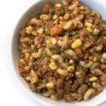 Kids Lunch Idea: Indian-style Keema Pasta