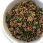 Palak Keema: Ground Chicken with Spinach