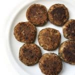 Recipe for Vegan Shami Kebabs taken from www.hookedonheat.com. Visit site for detailed recipe.