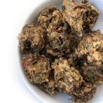 Recipe for Palak Pakodas (Spinach Fritters) taken from www.hookedonheat.com. Visit site for detailed recipe.