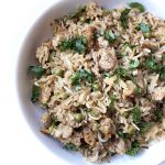 Recipe for Keema-Matar Pulao (Ground Meat & Peas Pilaf) taken from www.hookedonheat.com. Visit site for detailed recipe.
